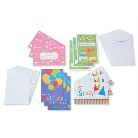 American Greetings 12 Count Happy Birthday Cards and Envelopes, Assorted Fun](Happy Birthday Cars)