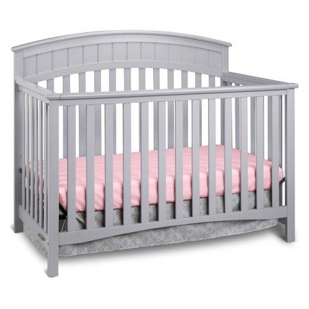 Graco Charleston 4 In 1 Convertible Crib Pebble Gray