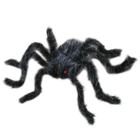 Veil Entertainment Spooky Giant Hairy Spider Decoration Prop, 20