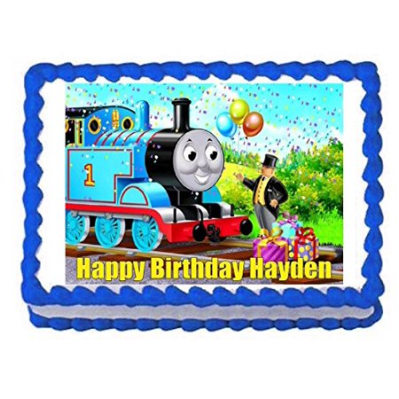 THOMAS AND FRIENDS TRAIN Edible Cake Image Frosting Sheet Decoration Topper