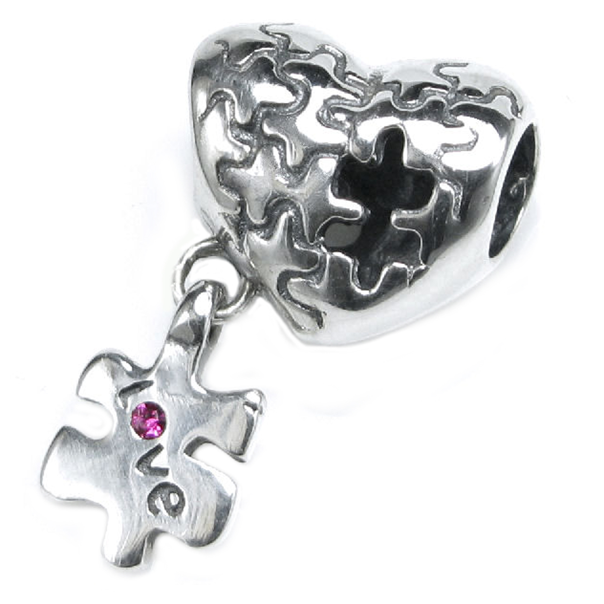 queenberry sterling silver autism awareness