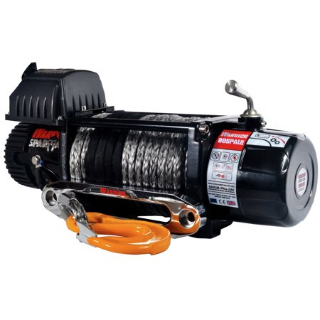 Warrior Winches 8000-SR 8,000 lb. Spartan Series Planetary Gear Winch with Synthetic (Hydraulic Planetary Winches)