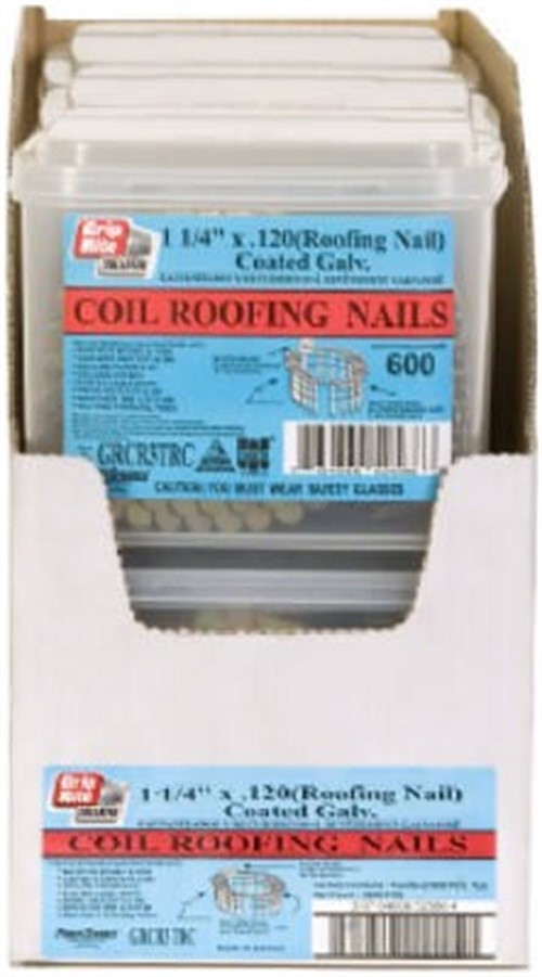 """Grip-Rite 600 1-1//4/"""" Roofing Nail"""