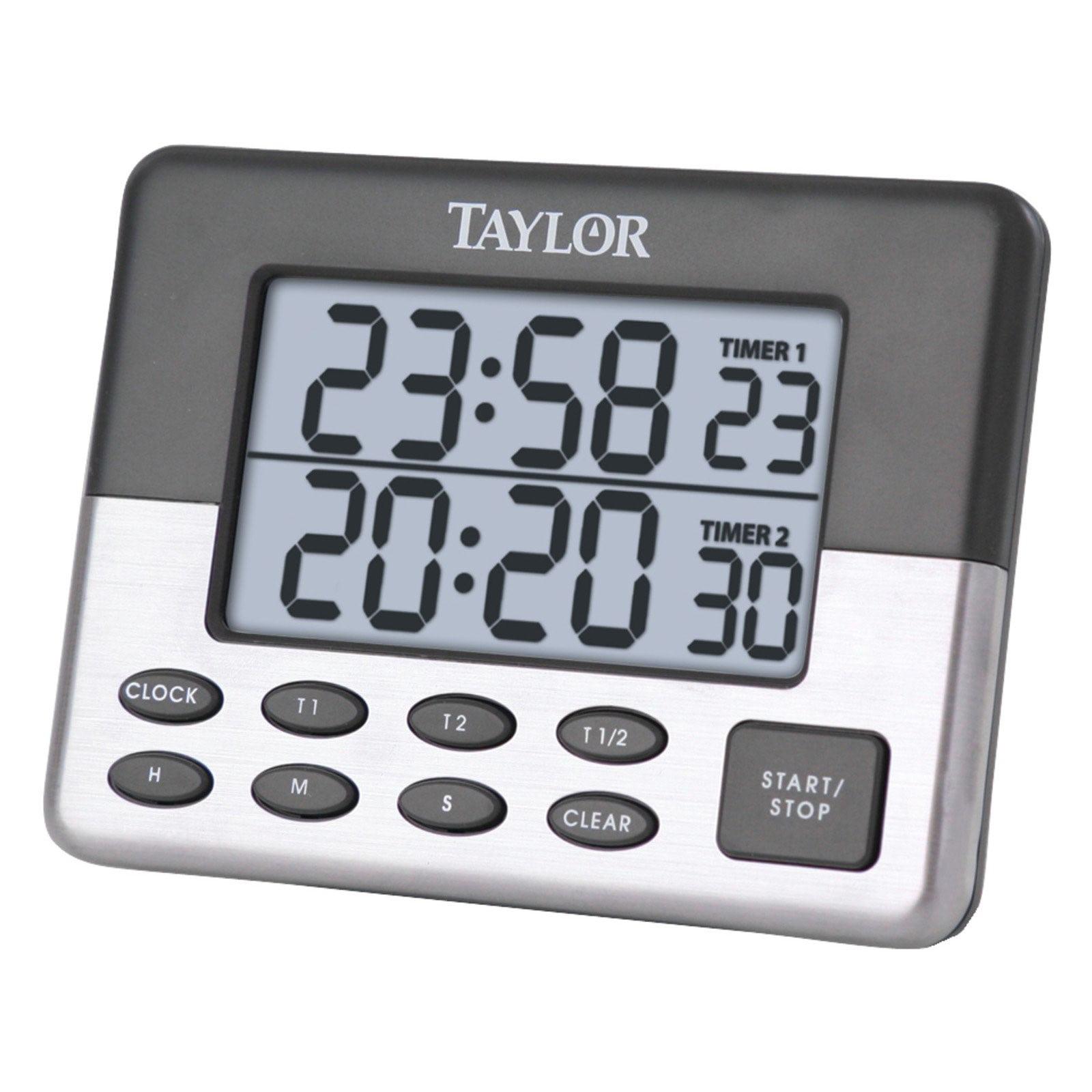 Taylor 5872-9 Dual Event Digital Timer - Walmart.com