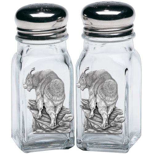 Mountain Goat Salt & Pepper Shakers