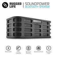Ematic RuggedLife Bluetooth Speaker and Speakerphone
