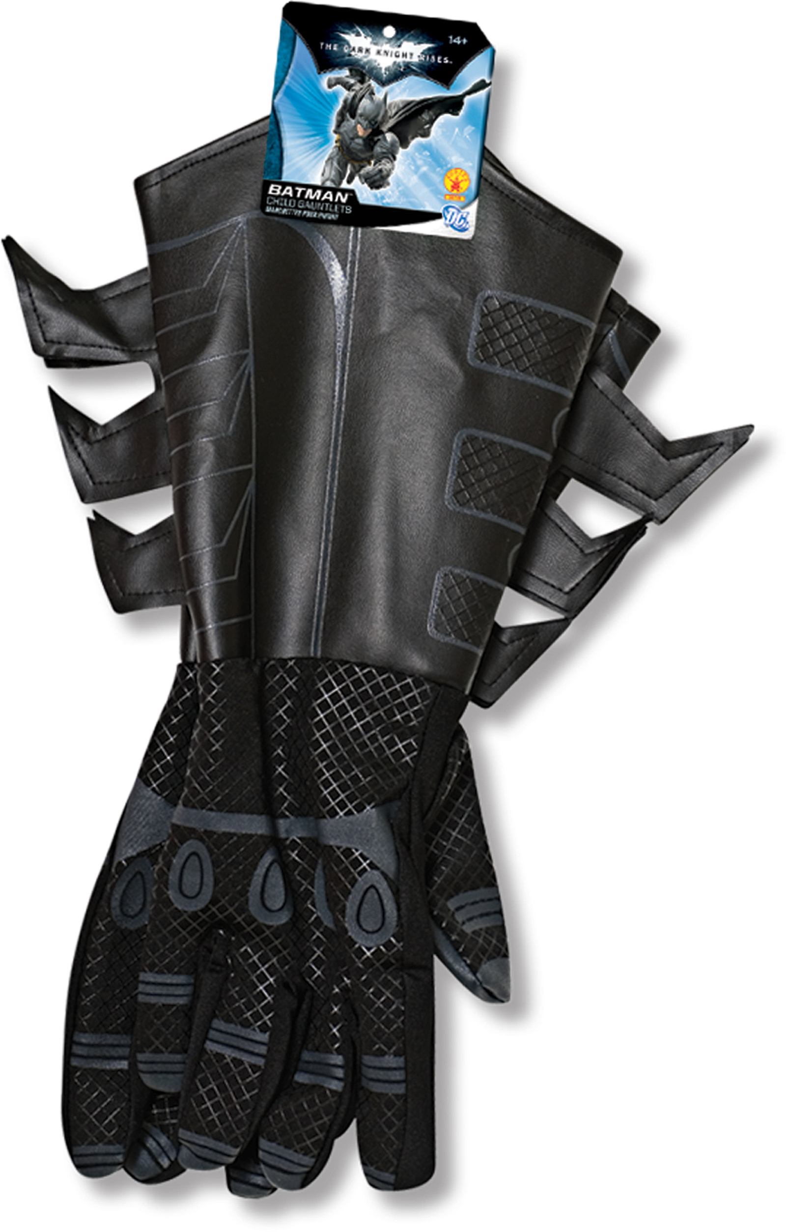Batman Dark Knight Rises Movie Child Gloves Gauntlets Licensed Costume