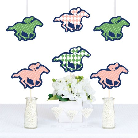 Kentucky Horse Derby - Horse Decorations DIY Horse Race Party Essentials - Set of 20