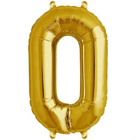 Efavormart 16 Shinny Gold Foil Balloons Letter Balloons For Wedding