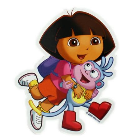 Dora the Explorer Dora Holding Boots Kids Flat Magnet - Boot Dora