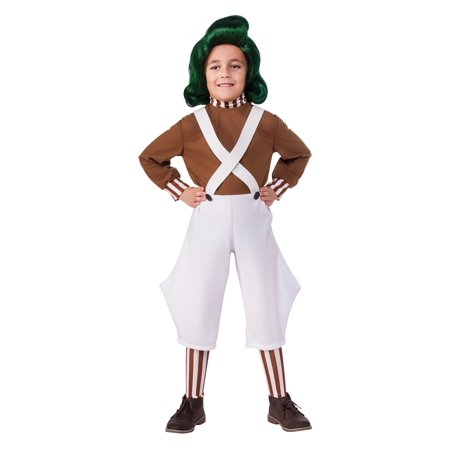 Child Oompa Loompa Costume - Willy Wonka Oompa Loompa Costumes