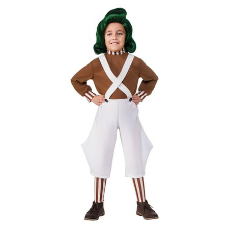 Child Oompa Loompa Costume - Oompa Loompa Costume Kids