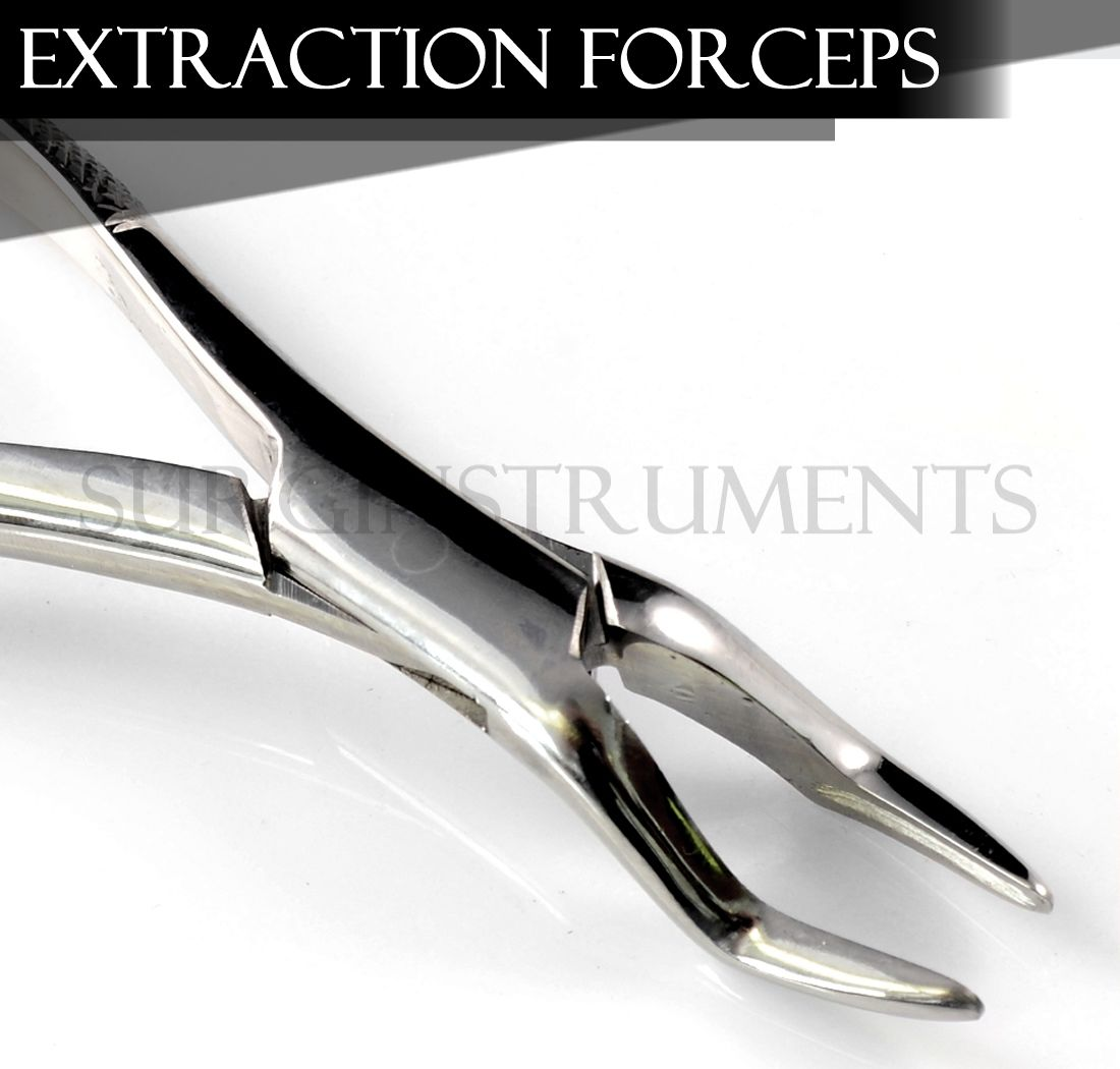 Extracting Forceps Dental Surgical Instruments 65