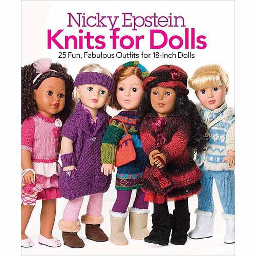 Nicky Epstein Books Knits For Dolls