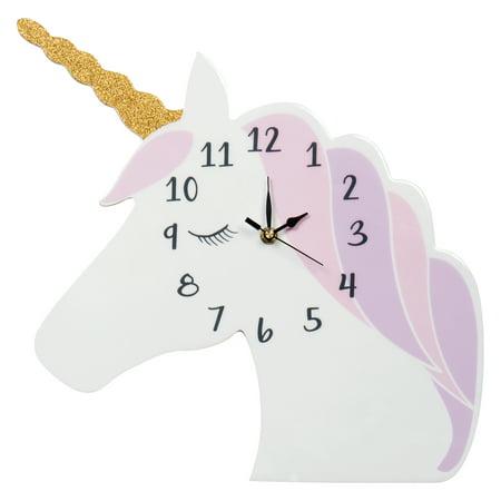 Unicorn Wall Clock](Womens Cloak)