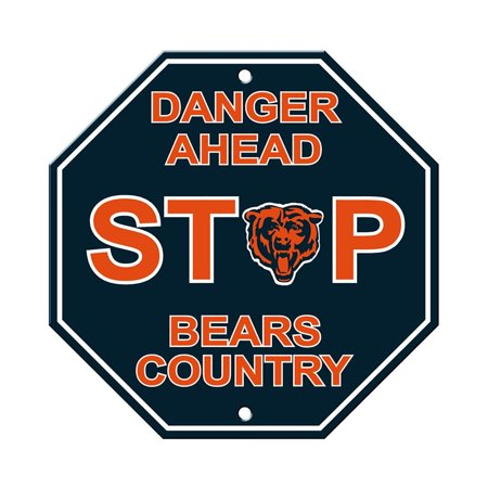 Nfl Pub Sign - NFL Chicago Bears Stop Sign