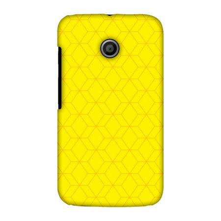 the best attitude ffd1f 3bdaf Motorola Moto E XT1022 Case - Hexamaze 1, Hard Plastic Back Cover. Slim  Profile Cute Printed Designer Snap on Case with Screen Cleaning Kit