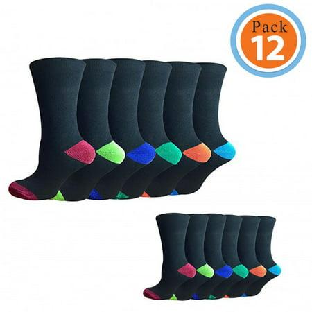 Soft Cotton Argyle Socks - Mens Cotton Socks | Mens Socks Value Pack | Argyle Socks | Mens Socks Size 10-13