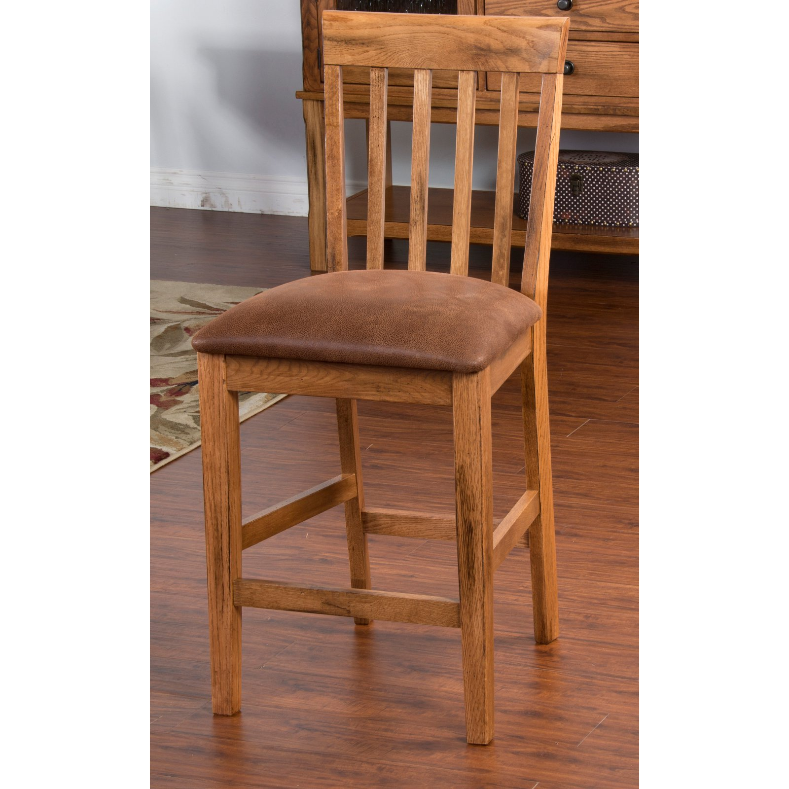 Sunny Designs Sedona 24 in. Cushion Seat Counter Stool