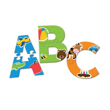 - Learning Resources Alphabet Puzzle Cards, 52 Pieces