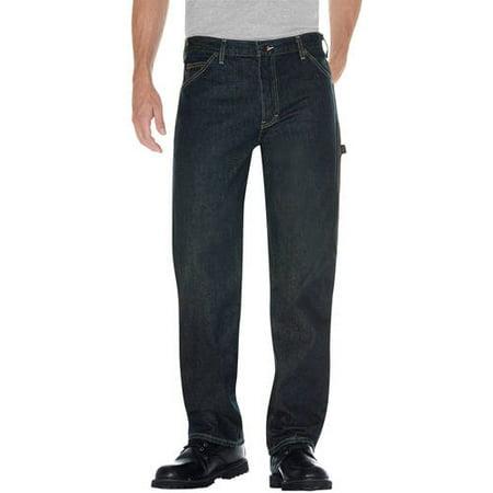 Dickies Men's Relaxed Fit Straight Leg Denim Utility Jean