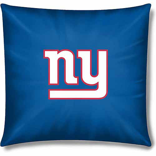 "Giants Official 15"" Toss Pillow"