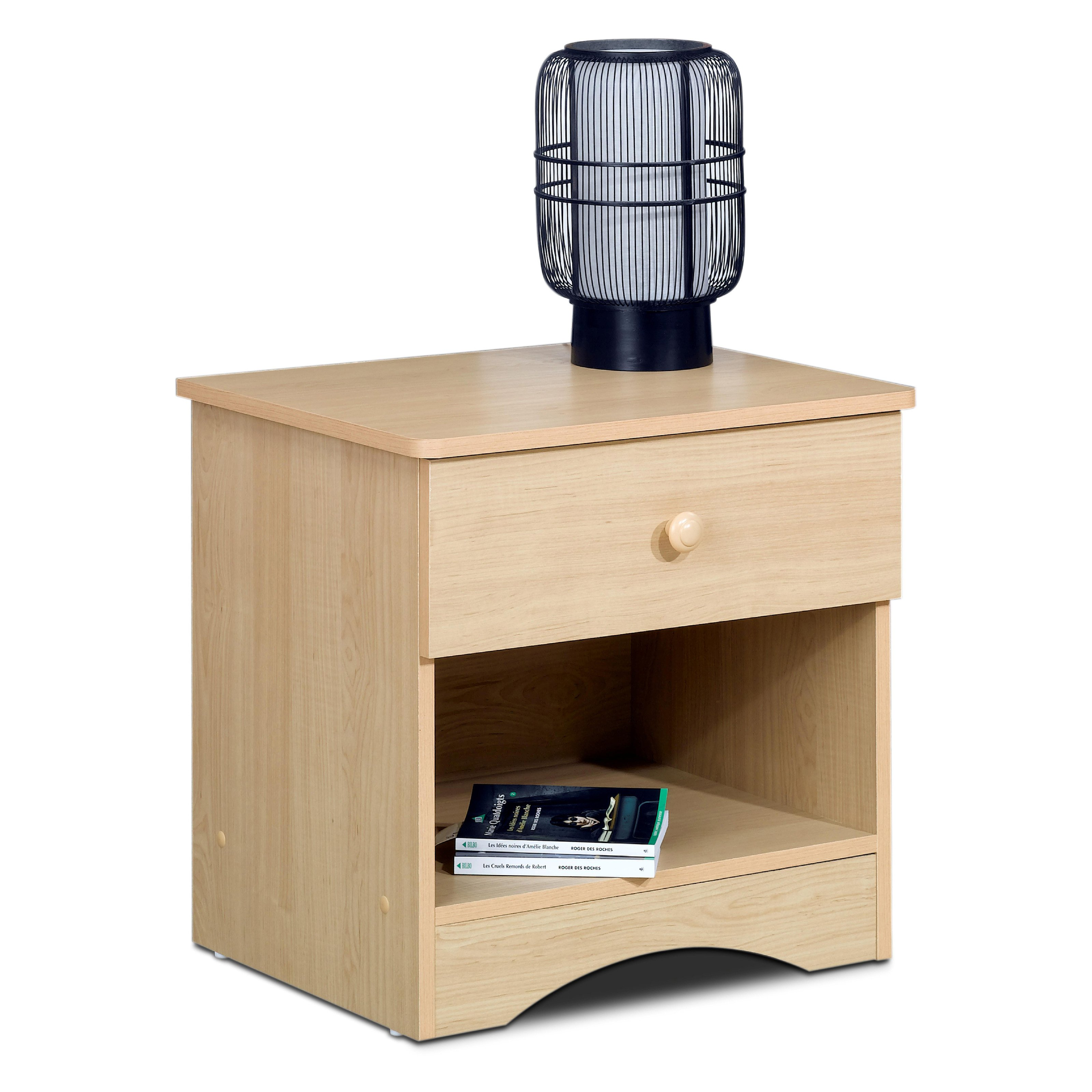 Alegria Natural Maple Nightstand
