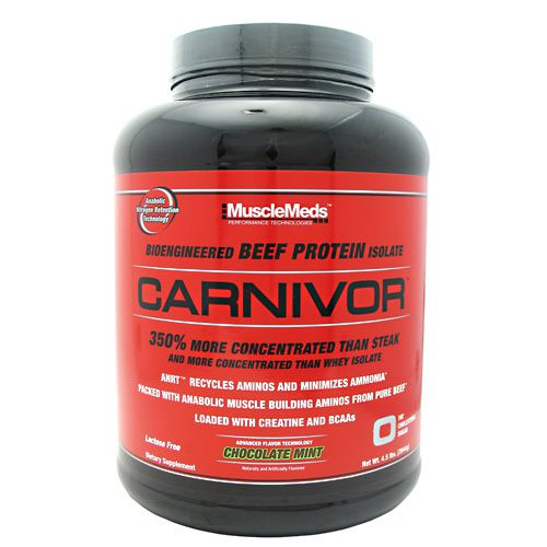 Muscle Meds Carnivor Chocolate Mint - 4.5 lb (2044g)