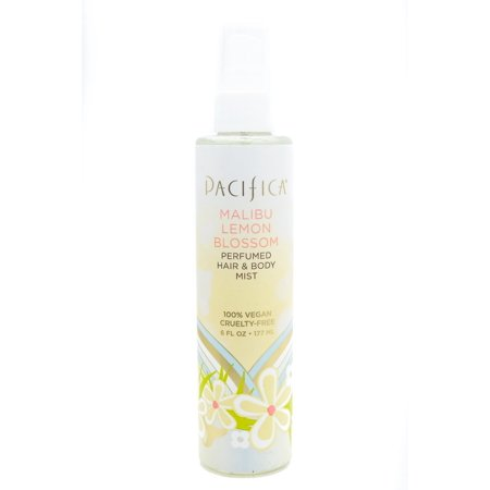 Pacifica Malibu Lemon Blossom Perfumed Hair & Body Mist   6 fl oz