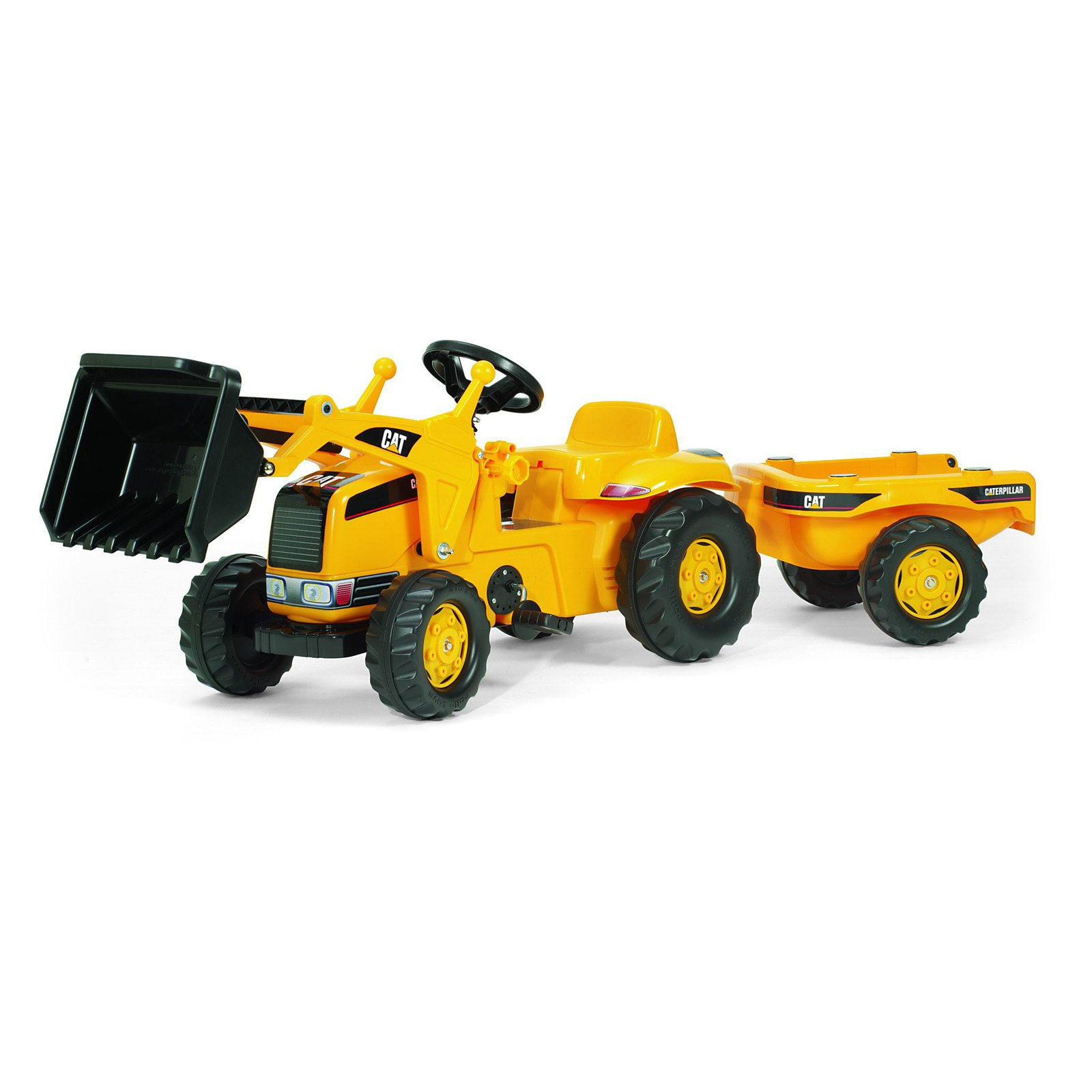 Rolly CAT Kid Tractor with Trailer