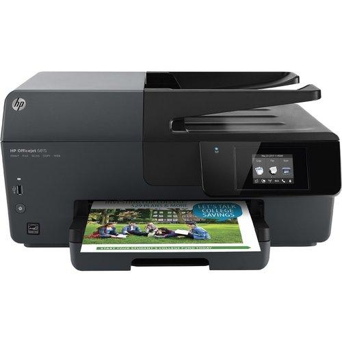 HP Officejet 6815 Inkjet Multifunction Printer/Copier/Sca...