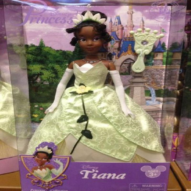 Disney Park Tiana The Princess and the Frog 11.5 inch Doll NEW 2013 Release