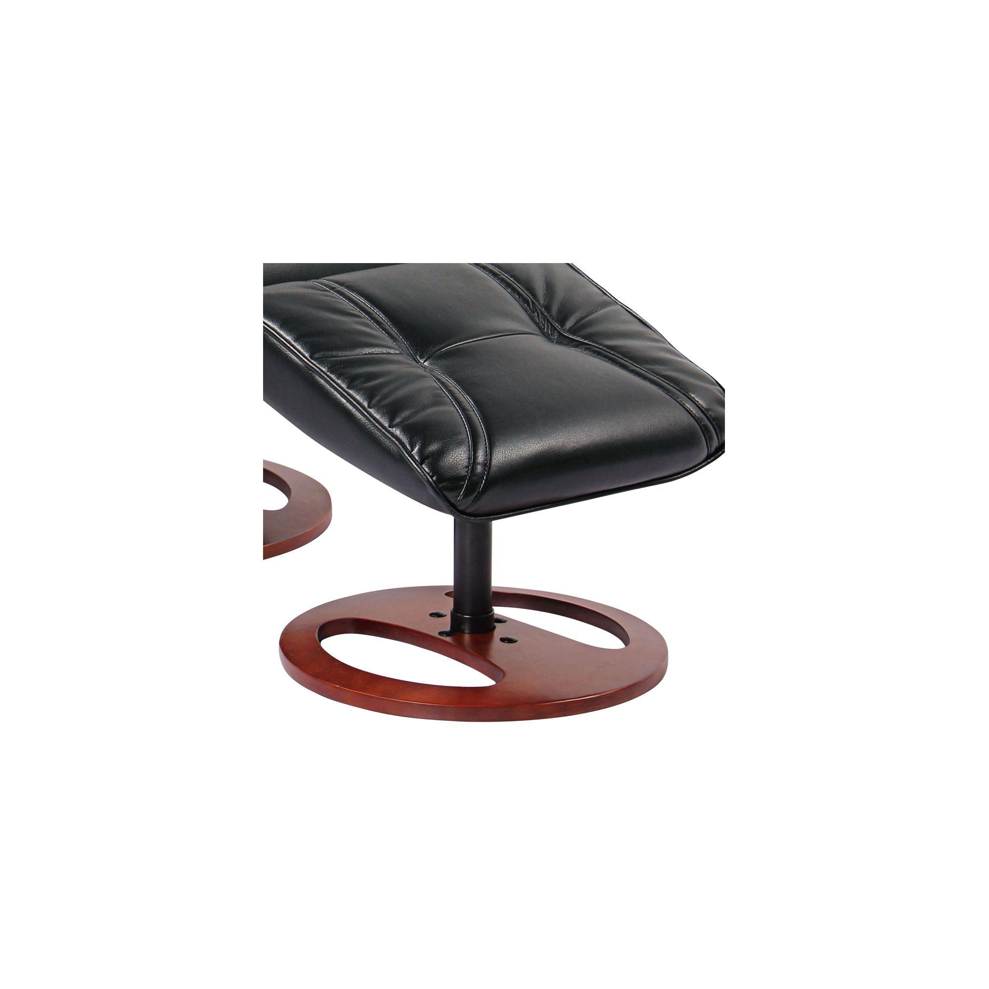Pleasing Benchmaster Newport Black Swivel Recliner And Slanted Short Links Chair Design For Home Short Linksinfo