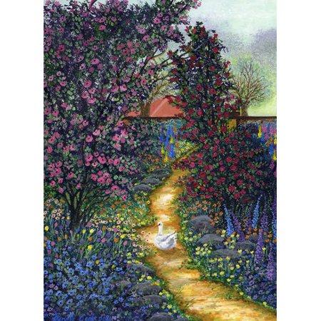 August Grove 'Duck Garden' Graphic Art - Halloween Grove Gardens