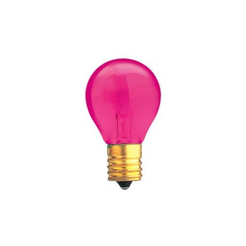 Bulbrite Industries Specialty 10W Transparent Pink String Replacement Light Bulb by Bulbrite Industries