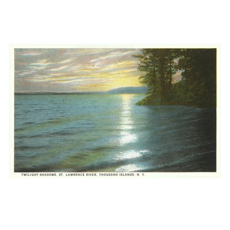 St. Lawrence River, Thousand Islands, New York Print Wall (Thousand Islands New York)