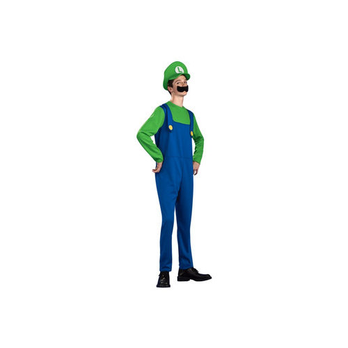 Rubies Super Mario Luigi Standard Teen Costume