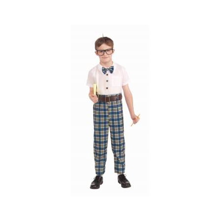 Class Nerd Child Costume (M) - A Cute Nerd For Halloween