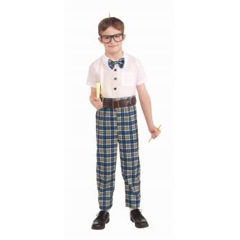 Class Nerd Child Costume (M)](Nerd Costumes For Girls)