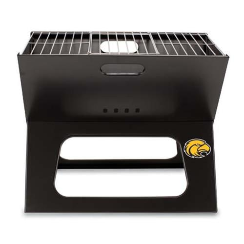 Picnic Time PT-775-00-175-744-0 Southern Mississippi Golden Eagles X-Grill in Black