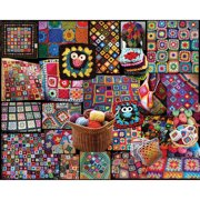 White Mountain Puzzles Granny Squares Puzzle, 1000 Pieces