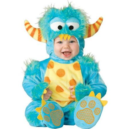 InCharacter Unisex Baby Monster Costume, Blue/Yellow/Orange, Medium - image 1 of 1