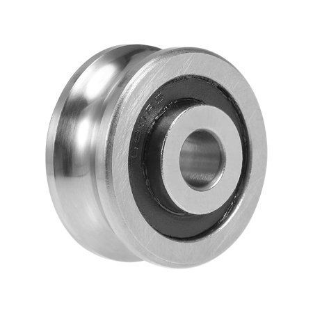 SG20 U-Groove Track Guide Bearing 6x24x11mm Pulley Bearings for Laser Cutting Machine
