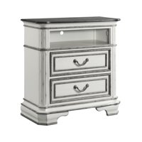 Picket House Furnishings Caroline 2-Drawer Media Chest with Media Compartment