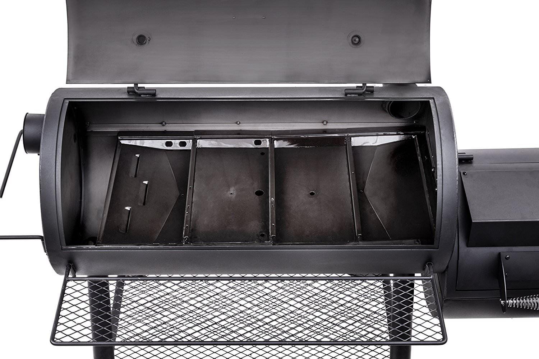 Oklahoma Joe Longhorn Reverse Flow Offset Smoker