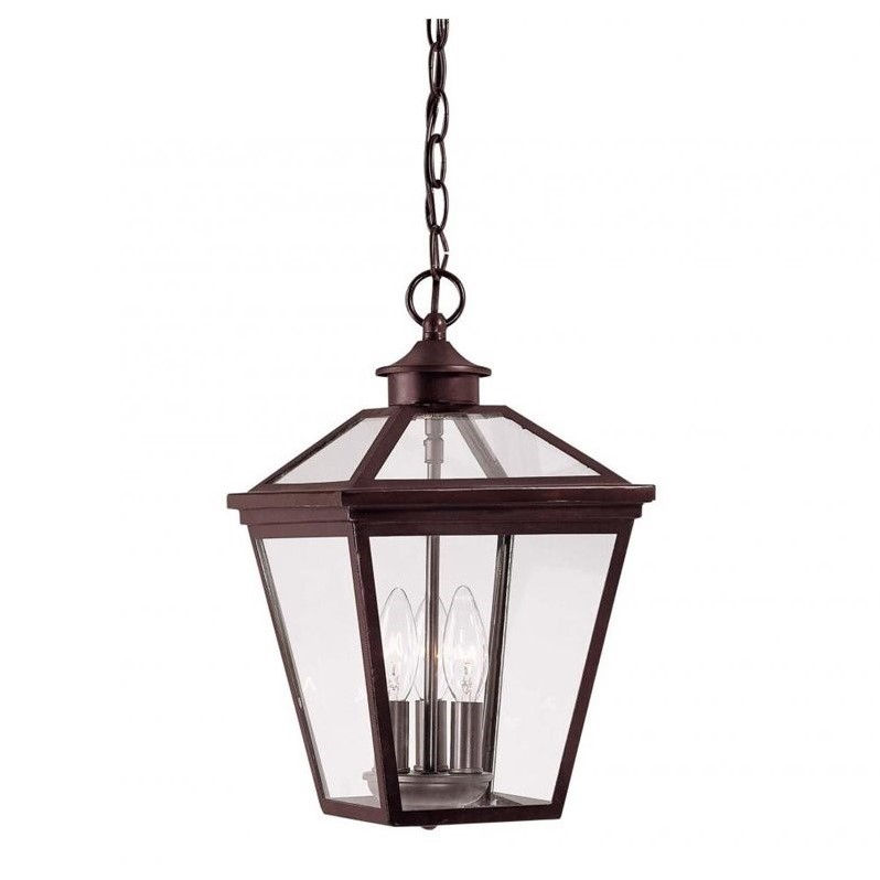Savoy House Ellijay Hanging Lantern in English Bronze