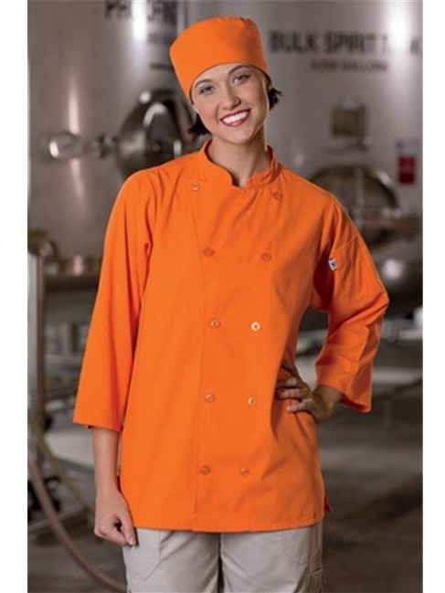0975-6701 Epic .75 Slv Chef Shirt Carrot Xs