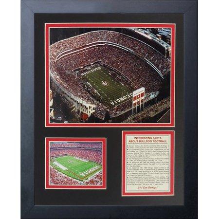 - Legends Never Die Georgia Bulldogs Sanford Stadium Framed Memorabilia