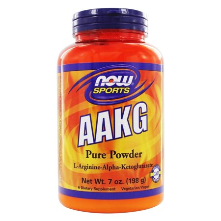 NOW Foods - AAKG poudre 100% Pure Unflavored - 7 oz
