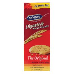 McVities Digestives wheat biscuits 400g pack 2 Imported from UK Wheat Free Biscuit